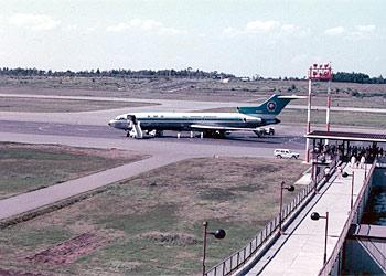 1973年の熊本空港とB727&B737