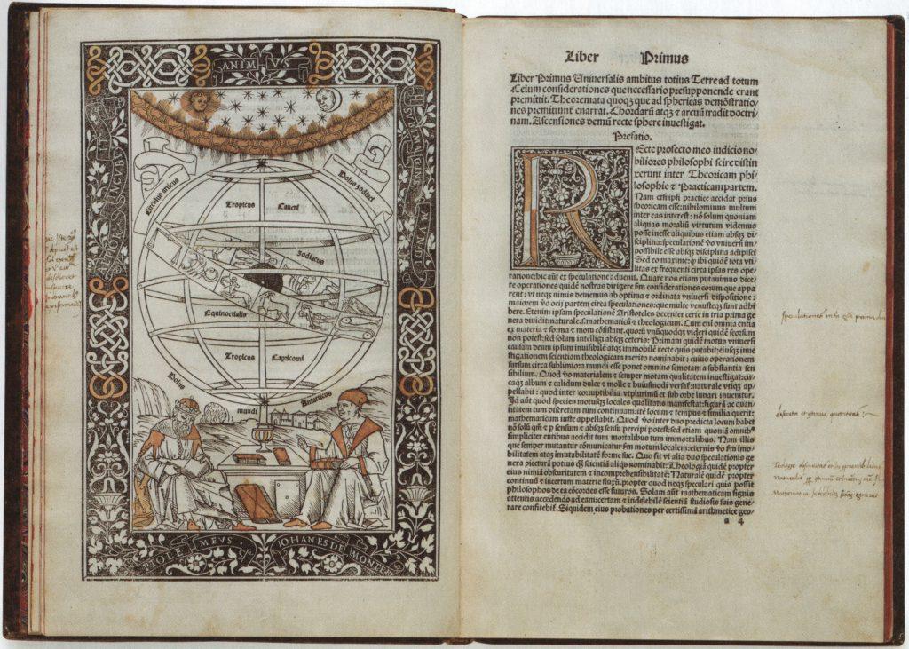 アルマゲスト摘要(レギオモンタヌス,1496年)